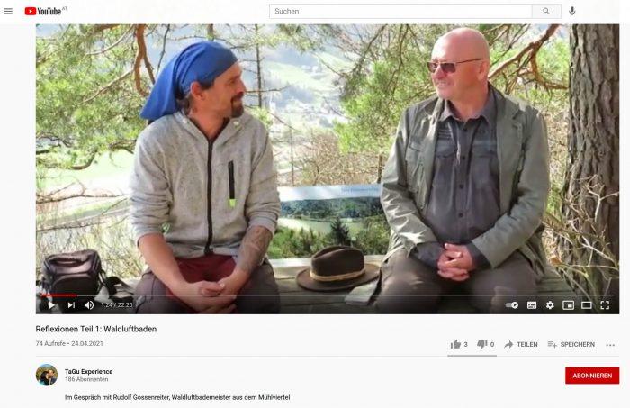 Interview mit Gunnar Screenshot (April 2021)